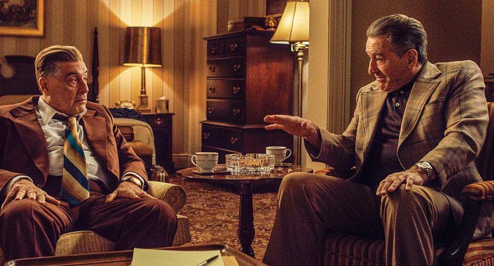 """""""The Irishman"""" cuenta con la actuación estelar de Robert De Niro. (Foto: Difusión)"""