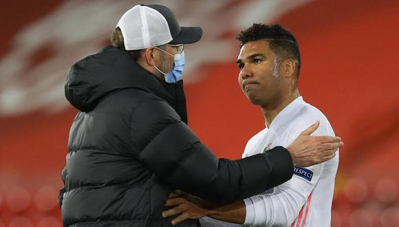 Casemiro sigue recibiendo halagos por el partido con Real Madrid frente a Liverpool. (Foto: Reuters)