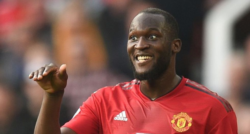 Romelu Lukaku - Manchester United. (Foto: AFP).