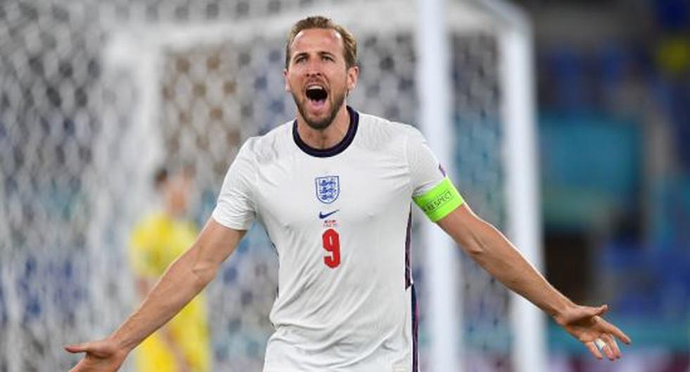 Harry Kane es una de las figuras de la Selección de Inglaterra en la Eurocopa 2021. (Foto: Getty Images)