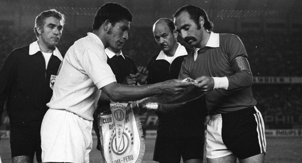 Chumpi, capitán de la 'U' en la final de la Copa Libertadores 1972. (Foto: Archivo Histórico El Comercio).
