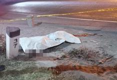 Arequipa: padre e hija fallecieron tras ser atropellados por camioneta