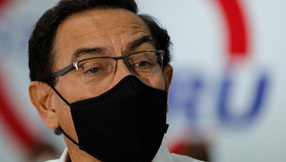 Martín Vizcarra indicó que a través del Ministerio del Interior se atendió el pedido de protección de parte de las fiscales. (Foto: Archivo GEC)