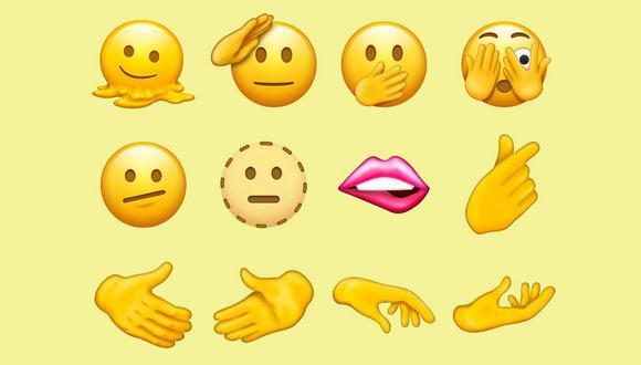 Estos son algunos de los diseños de emoji aprobados por el consorcio Unicode para el próximo año. (Imagen: Unicode)