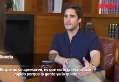 """Diego Boneta: lo que le dijo a Somos sobre la segunda temporada de """"Luis Miguel, la serie"""""""