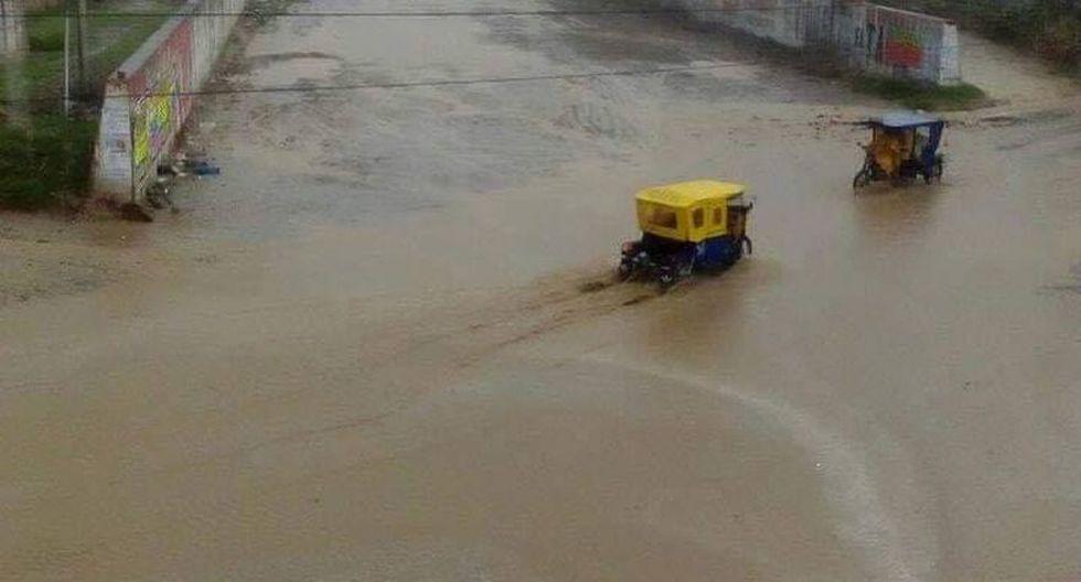 Fuertes lluvias en Tumbes y Piura originan deslizamientos e inundaciones