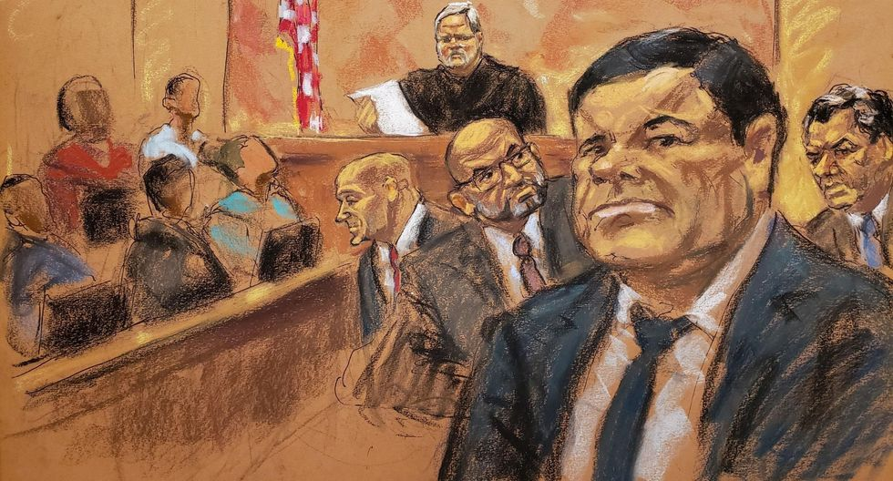 Juicio a El Chapo Guzmán en Nueva York revela su vida amorosa y negocios. (EFE).