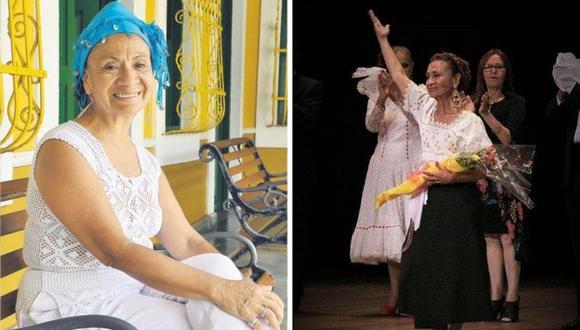 Milly Ahón Olguín es considerada Personalidad meritoria de la cultura gracias a su arte. (Foto: Facebook @millyahon)