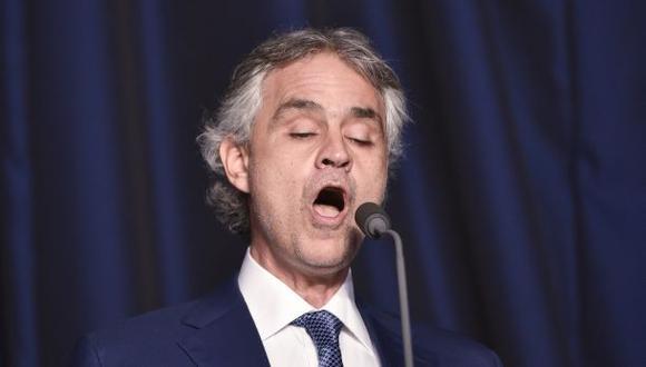 Andrea Bocelli cantará en celebración del título del Leicester