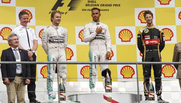 Fórmula 1: Lewis Hamilton se queda con el GP de Bélgica