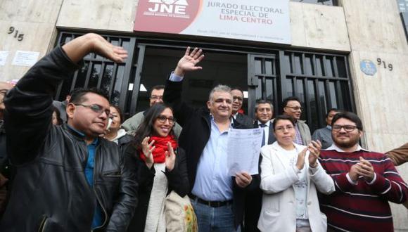 Gustavo Guerra García busca llegar a la Alcaldía de Lima con Juntos por el Perú (ex Partido Humanista Peruano). (Foto: Archivo El Comercio)