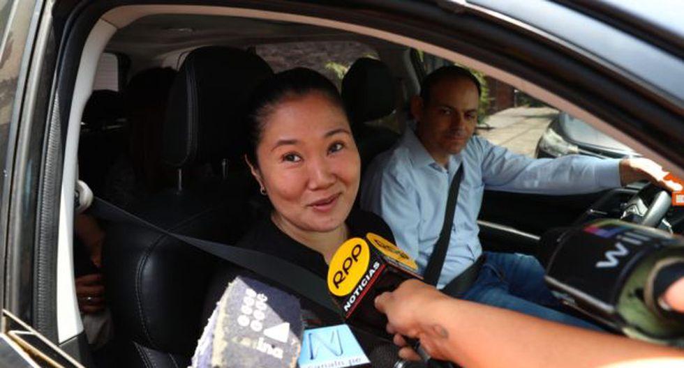 Keiko Fujimori abandonó el penal Anexo de Mujeres de Chorrillos el pasado viernes por la noche. (Foto: GEC)