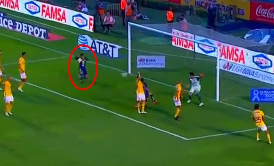 América vs. Tigres: Bruno Valdez marcó el 1-0 para las Águilas | VIDEO. (Foto: Captura de pantalla)