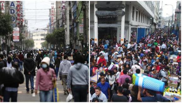 La informalidad se desborda en la periferias de Gamarra y en Mesa Redonda, reportan comerciantes. (Foto: Archivo)
