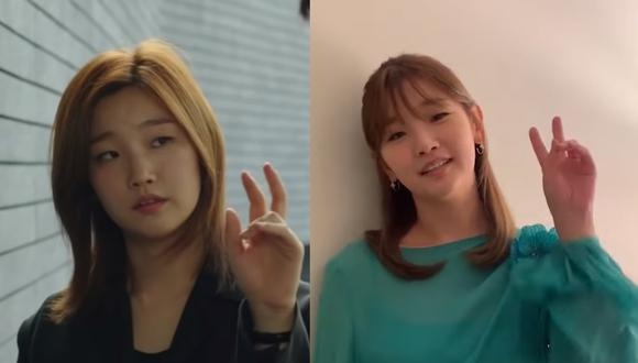 Park So Dam, la reconocida actriz de la película ganadora del Oscar 2020, Parasite, te enseña a cantar el jingle de 'Jessica, Illinois, Chicago' de la película. (Foto: Producción)