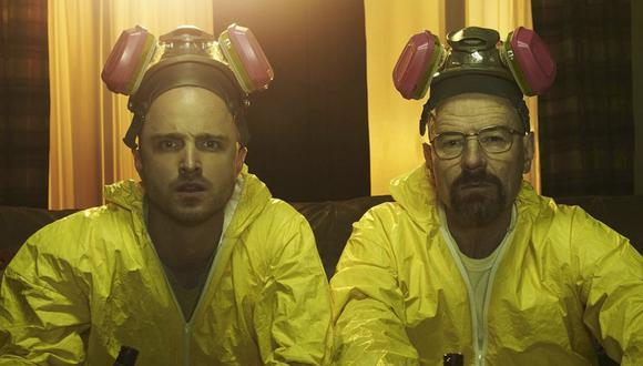 """Walter White y Jesse Pinkman se convirtieron en la sociedad más querida de la ficción, gracias a su trabajo en """"Breaking Bad"""" (Foto: AMC)"""