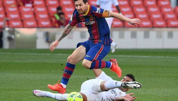 Barcelona y Real Madrid chocarán en enero de 2022 por la Supercopa de España (Foto: AFP)