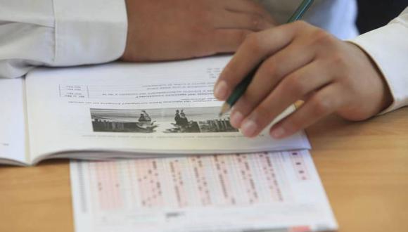 En la evaluación de matemática el Perú obtuvo un promedio de 400. (Foto: Andina)