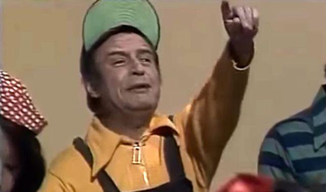"""Horacio Gómez Bolaños fue el hermano menor de 'Chespirito'. En """"El Chavo del 8"""" se hizo conocido como Godinez (Foto: Televisa)"""