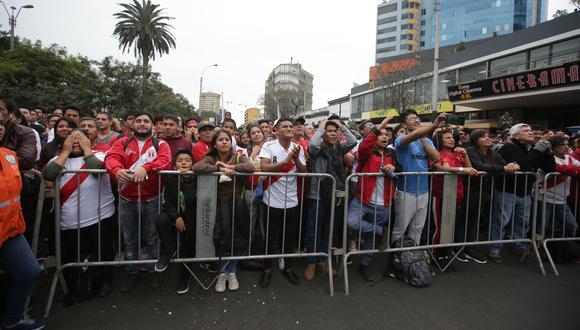 En Miraflores, el parque Kennedy será el punto de encuentro, como fue en la semifinal. (Foto: GEC)