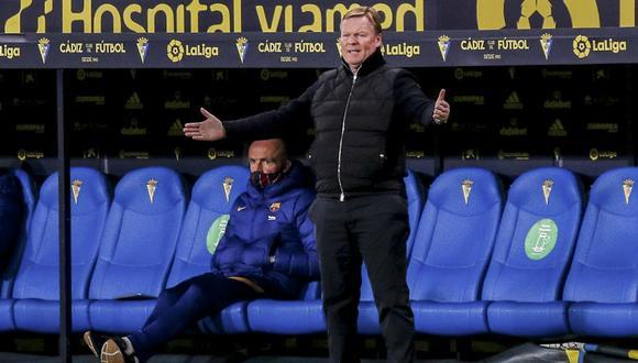 Ronald koeman decepcionado tras nueva derrota de Barcelona (Foto: AP)