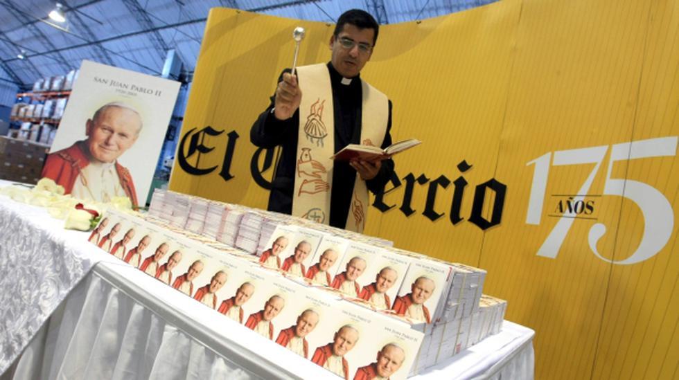 """Revista """"Los Santos Pontífices"""" este viernes con El Comercio - 1"""