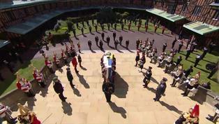 El Reino Unido guarda un minuto de silencio por el difunto príncipe Felipe
