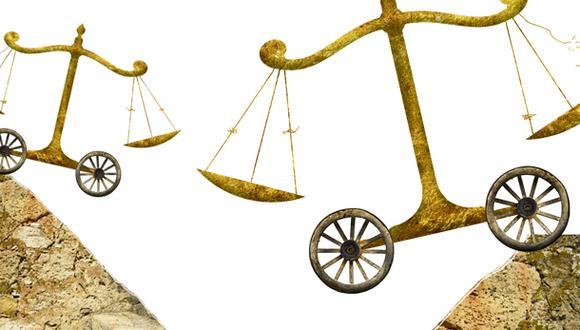 """""""Hay una institución que en todo esto ha pasado piola: el Poder Judicial. Nadie la menciona"""". (Ilustración: Giovanni Tazza)"""
