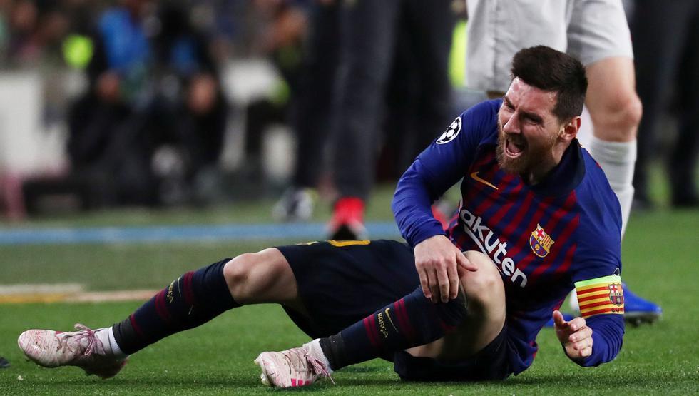 Barcelona vs. Liverpool EN VIVO: Messi recibió falta y sorprendió con estrepitosa caída   VIDEO. (Foto: AFP)