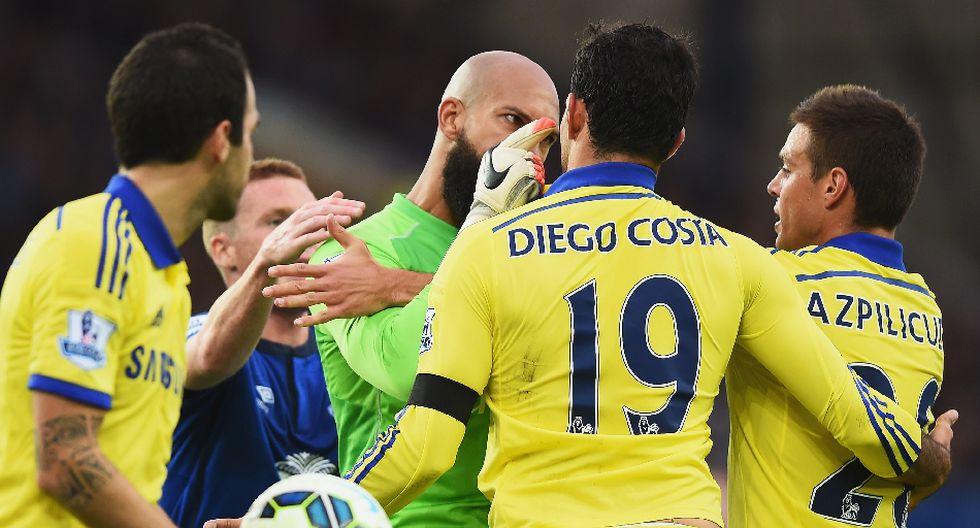 Costa se burló, peleó y anotó dos goles en triunfo de Chelsea - 4