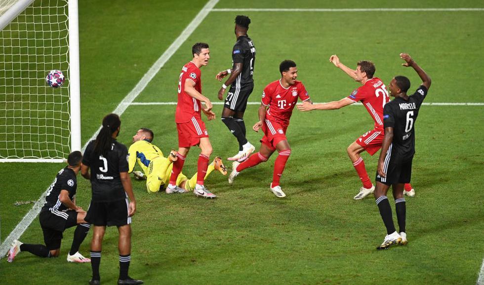 Gnabry marcó el 2-0 (AFP/EFE)