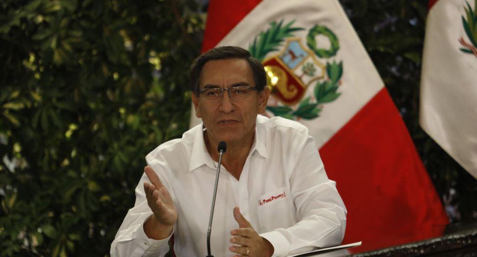 Martín Vizcarra dio negativo a coronavirus | TROME