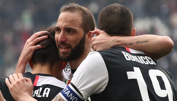 Higuaín costó 90 millones de euros a la Juventus. (Foto: AFP)