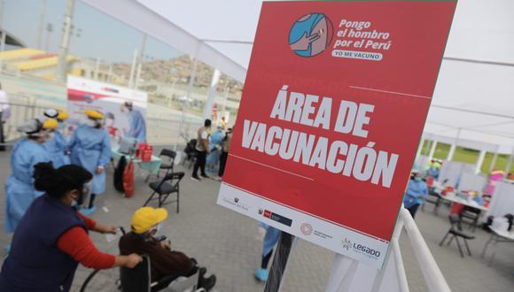 Las vacunas de Astrazeneca se aplicarán en regiones que no cuenten con cadena de frío. (Foto: Jorge Cerdán/ @photo.gec)