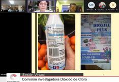 Dióxido de cloro y el día que el Congreso empezó a analizar si este desinfectante cura el COVID-19