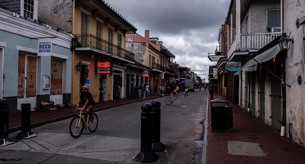 Fear in Louisiana as Category 4 Hurricane Ida Approaches