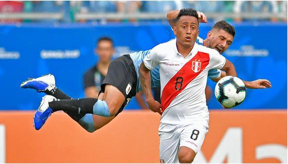 Christian Cueva disputó la Copa América 2019. (Foto: EFE)