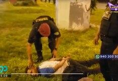 SJL: PNP capturó a sujeto que maniató a cuartelero de hostal y se llevó S/800  | VIDEO