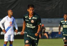 """Leonardo Rugel: """"Estoy emocionado, mi debut con Universitario y un gol"""""""