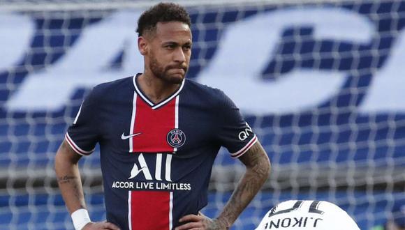 Neymar recibe críticas por su expulsión contra Lille. (Foto: Reuters)