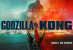 """""""Godzila vs Kong"""": Warner Bros. Pictures anuncia póster oficial de la esperada cinta"""