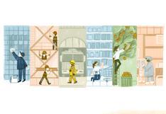 Día del Trabajador: Google rinde homenaje con doodle a los trabajadores