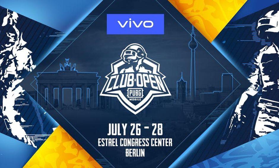 El PUBG Mobile Club Open 2019 se llevará a cabo en Berlín, Alemania, desde el 26 al 28 de julio. (Difusión)