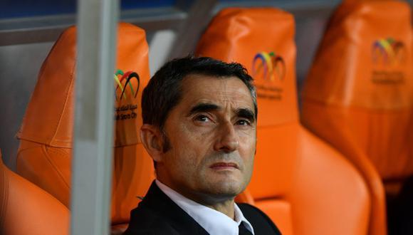 Ernesto Valverde es resistido por la hinchada del Barcelona | Foto: Reuters