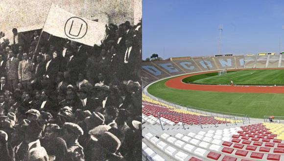 Universitario de Deportes fue fundado por alumnos de la Universidad Nacional Mayor de San Marcos en 1924. Este viernes, el club crema jugará en el estadio de la ciudad universitaria. (Foto: Universitario / GEC)