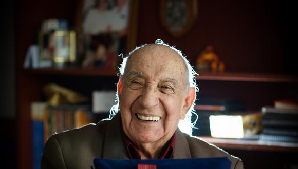Jorge Sanjinez, uno de los peruanos que participó en el Desembarco de Normandía, volvió a esa región francesa tras 75 años. (Archivo El Comercio / Juan Ponce)