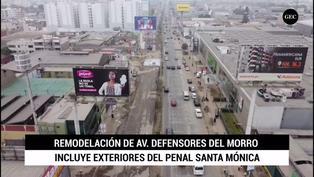 Debate presidencial 2021: avenida Defensores del Morro se encuentra en remodelación