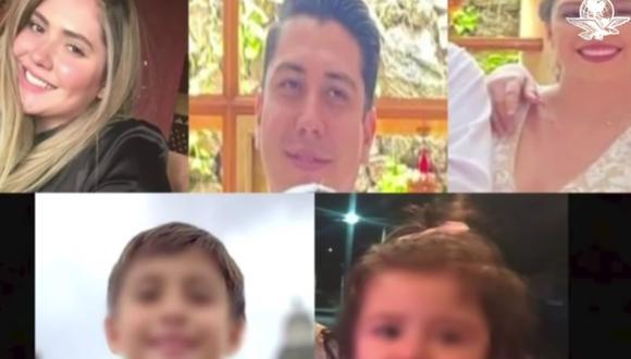 Las autoridades enfocaron su búsqueda en el municipio de Acatic, en el estado de Jalisco (México), en cuya carretera se les había ubicado por última vez. (Captura de video/ YouTube).