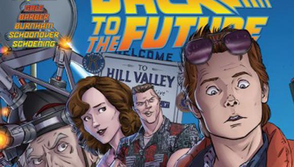 """""""Volver al futuro"""": lanzan cómic de la película"""