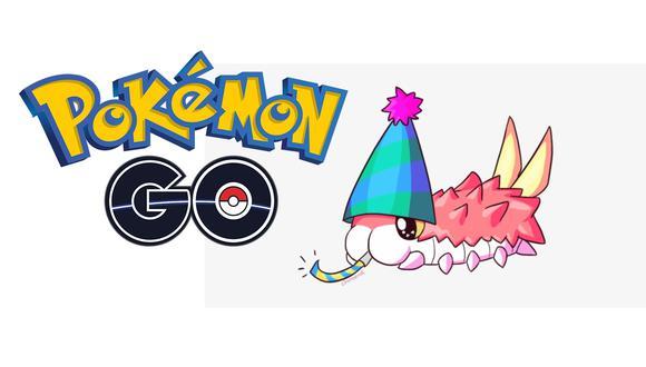 ¿Ya tienes a Wrumple con gorrita? Conoce todo sobre el nuevo evento de Pokémon GO. (Foto: Nintendo)